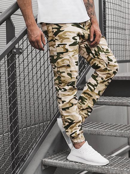 6b3415b80a9df Details zu OZONEE ATHLETIC 404 Herrenhose Jogger Militär Jogging Camouflage  Chino Hose MIX