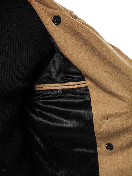 Manteau d/'Hiver Transition Veste De Sport Veste Coat Col Montant Classic Messieurs OZONEE 1048z
