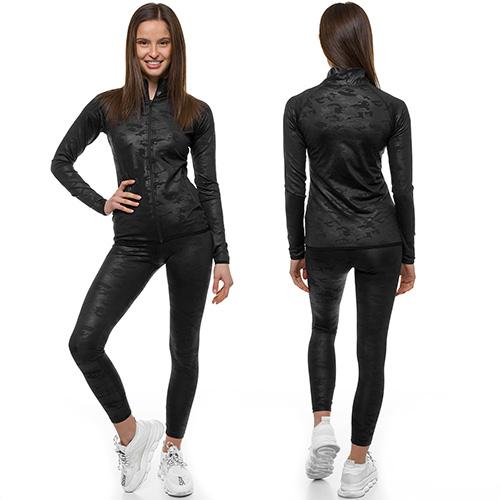 Sportanzug Trainingsanzug Hausanzug Hoodie Hose Sweatshirt OZONEE O//18239 Damen