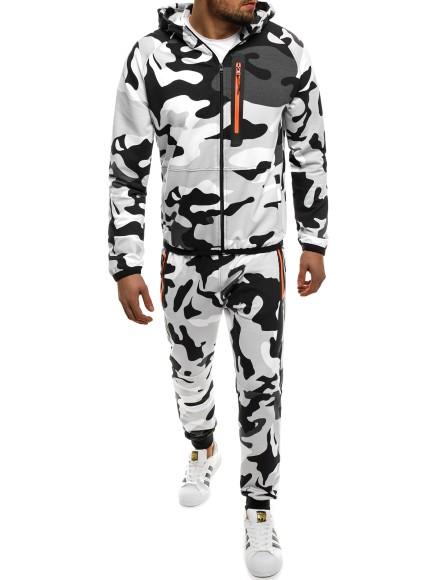 OZONEE Herren Trainingsanzug Sportanzug Jogginganzug Jogginghose Sweatshirt 0924