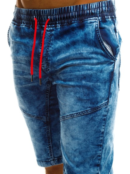 dd4adc79d1a95c OZONEE 6692 Herren Kurzhose Shorts Jeanshose Verwaschen Bermuda ...
